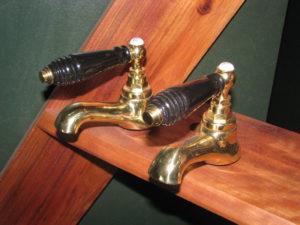 Victorian Brass Taps